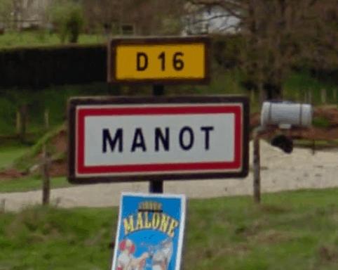 Commune de Manot